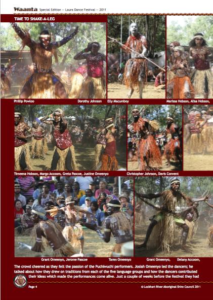 Waanta Laura Festival page shake-a-leg